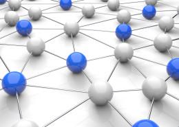 Network / Balls / 3d Concept